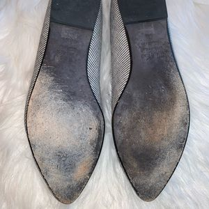 Eileen Fisher Shoes - Eileen Fisher Play2 Black Ministripe Chambray